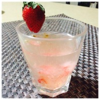 Lychee, Strwberry, Passionfruit - Juice? Infused Water? Or Mocktail?